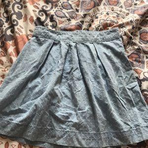 I'm selling a blue skirt